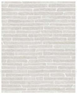 Super Fresco Easy Briquette Wallpaper - Grey by New A-Brend