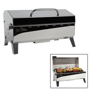 The Amazing Quality Kuuma Stow N' Go 160 Gas Grill - 13,000BTU w/Regulator, Thermometer and Igniter