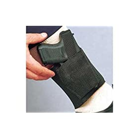 DeSantis Glock 26 27 33 Apache Ankle Holster (Right Hand, Black) by Ankle Holsters