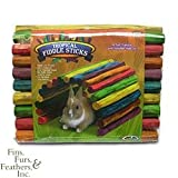 Super Pet Tropical Fiddle Sticks for Small Pets (Large, 18 Inch L x 10 Inch W)