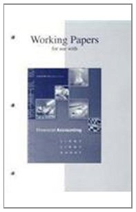 Working Papers t/a Financial Accounting