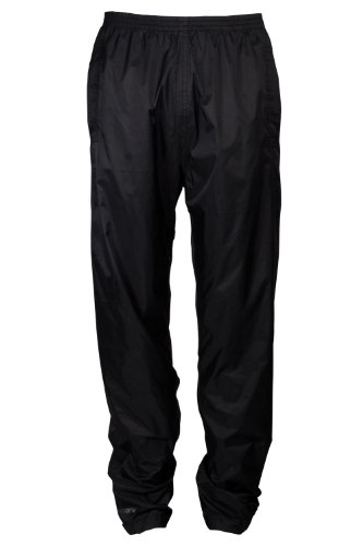 Mountain Warehouse Cubre pantalón impermeable Pakka para hombre Negro Large