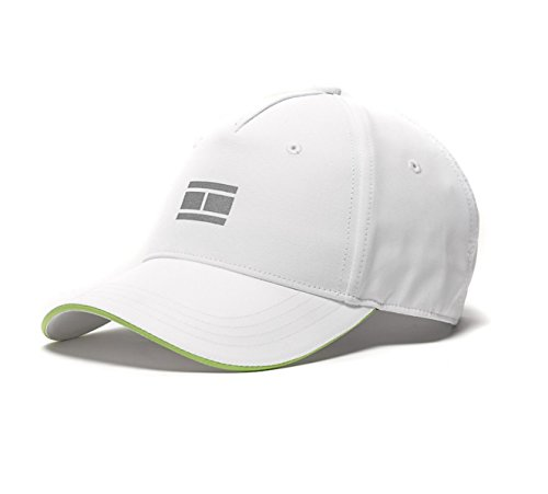 Tommy Hilfiger Baseball Hat Cap (White Golf-Grey Flag ) (Tommy Hilfiger Caps For Men compare prices)