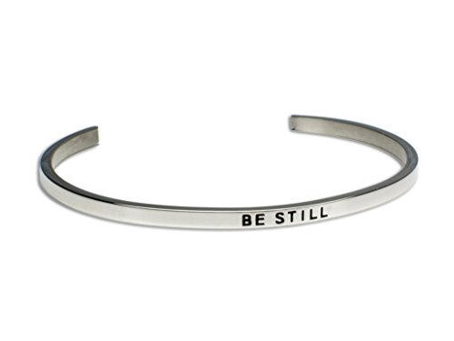 Be Still:Gift for Her,Mantra Bracelet, Inspirational gift,100% Guaranteed,Perfect Gift.