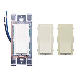 Leviton Wss10-Auz Wireless Switch Receiver, 120/277V, Levnet Rf, White