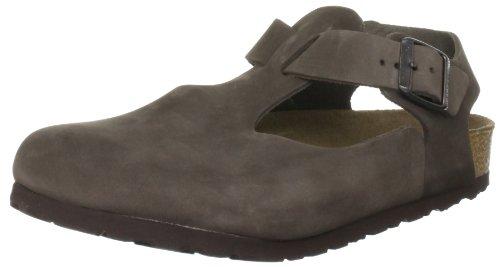 Birkenstock Bonn Nubuck Leather, Style-No. 264161, Unisex Clogs, Mocca, EU 39, normal width