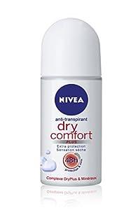 Nivea Deo - Bille Femme Dry Confort - 50 ml - Lot de 2