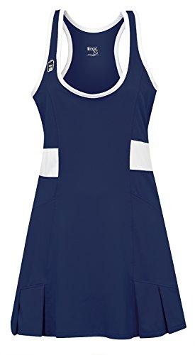 DUC Women's Dominate Tennis Dress (X-Large, Navy)