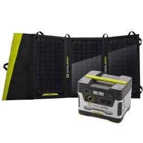 Goal Zero Yeti 400 Solar Generator Kit W/Nomad 20 Solar Panel