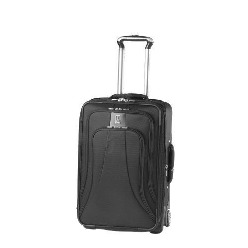 Travelpro Luggage WalkAbout LITE 4 22-Inch Expandable Rollaboard Suiter, Black, One Size
