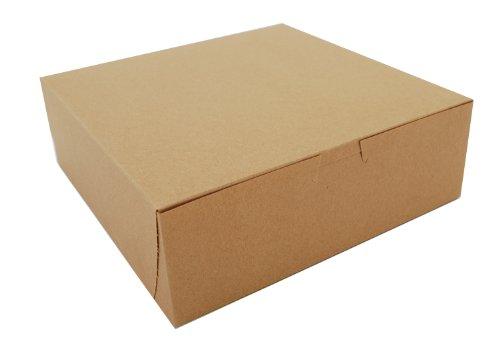 Southern Champion Tray 0957K Kraft Paperboard Non Window Lock Corner Bakery Box, 9