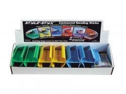 Contoured Sandng Sticks-2Pack