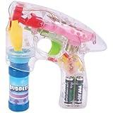 Transparent LED Flash Bubble Gun - 1 Piece