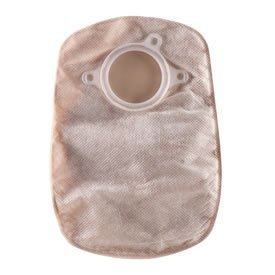 "SUR-FIT Natura Closed-End 8"" Pouch - 1 3/4"" Flange - Opaque - 30/Box"