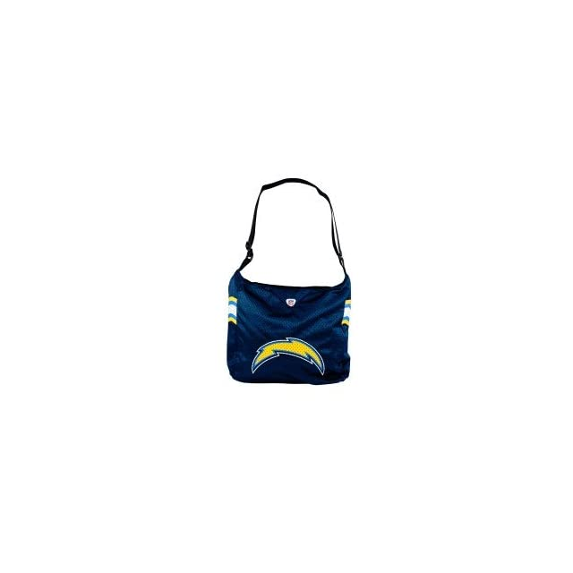 NFL San Diego Chargers Team Womens Jersey Tote