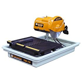 FELKER 173486 TM-75 Portable Tile Saw with Cutting Kit