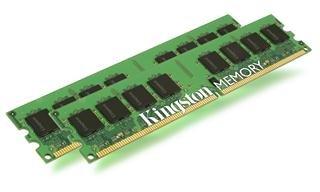 Kingston - Mémoire - 2 Go - DIMM 240 broches - DDR2 - 667 MHz / PC2-5300 - mémoire sans tampon - ECC
