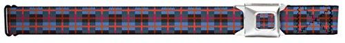 Colorful Designed Decorated Patterns Argyle Stripes Seatbelt Belt
