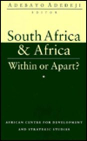 South Africa and Africa: Within or Apart?