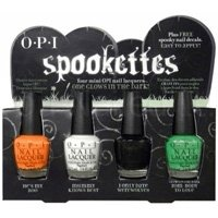 OPI Spookettes Mini Nail Lacquer set ONE glows in the dark