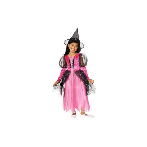 Pink Witch Child Costume Size Toddler