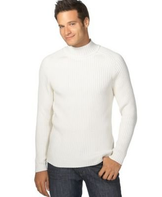 Buy Alfani Tall Chunky Mock Neck Sweater