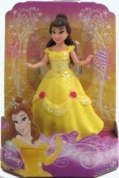 Disneys Princess Belle Glitter Rubber 3 1/2 Doll by Disney - 1