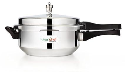 Greenchef Aluminium 6 L Pressure Cooker (Outer Lid)