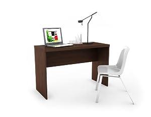 """Sonax Workspace 48"""" Desk in Urban Maple"""