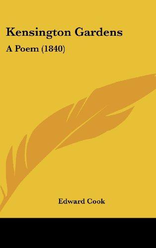 Kensington Gardens: A Poem (1840)