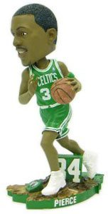 Boston Celtics Paul Pierce Action Pose Forever Collectibles Bobble Head by Unknown