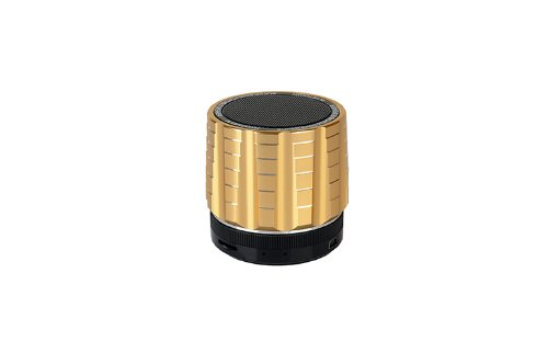 Coluub Bluetooth Speaker For Mobile Phone With Bluetooth And Other Bluetooth-Enabled Devices Color Golden