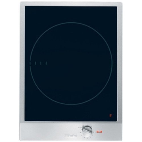 Miele : CS1221I 15 Induction Cooktop, 1 Zone, 12 Power Settings, Stainless Steel Knob