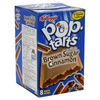 Kellogg's Pop-Tarts Toaster Pastries, Frosted Brown Sugar Cinnamon, Low Fat 14oz(packet of 2)