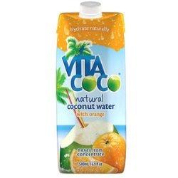 Vita Coco Natural Coconut Water with Orange 330ml x 12