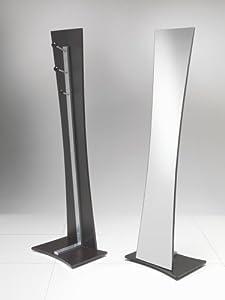 Tomasucci vanessa specchiera da terra con appendiabiti metallo nero casa e cucina - Ikea specchi adesivi ...