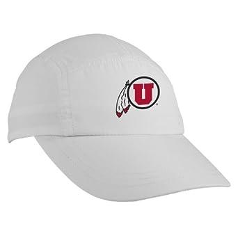 Buy NCAA Utah Utes Race Hat, White by Headsweats