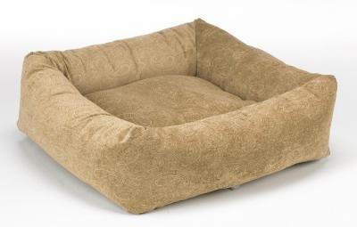 Bowsers Dutchie Dog Bed, Microvelvet Paisley Cedar, X-Large 40