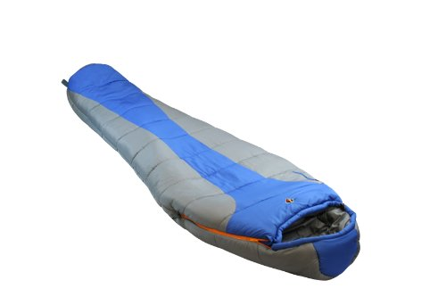 Ledge Sports FeatherLite -20 F Degree Ultra Light Design, Ultra Compact Sleeping Bag (84 X 32 X 20, Blue)