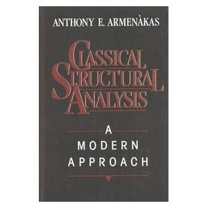 Structural Analysis Anthony E. Armenakas