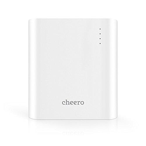 cheero Power Plus 3 13400mAh 大容量 モバイルバッテリー  [ 国産Sanyo/Panasonic高品質電池搭載 ]  iPhone 6 5S 5 / iPad / Android / Xperia / Galaxy / 各種スマホ / タブレット / ゲーム機 / Wi-Fiルータ 等 急速充電 対応