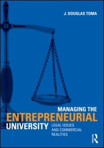 Managing the Entrepreneurial University: Legal Issues and...