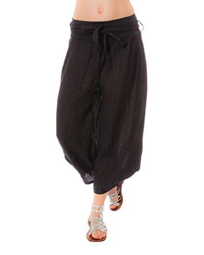 100% Linen Pantalone Lino