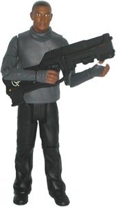Picture of Character Options Doctor Who - Mickey Smith 5 inch Series 2 Action Figure with 'Preacher' Weapon (B001MQ7T5A) (Character Options Action Figures)