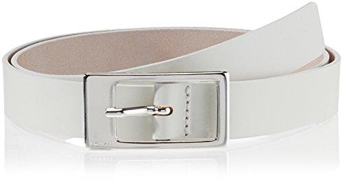 ESPRIT - 993EA1S900, Cintura Donna, Bianco (WHITE 100), Small (Taglia Produttore: 80)