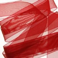 Red Organza ribbon 22mm 10m length from Pocketfold Invites