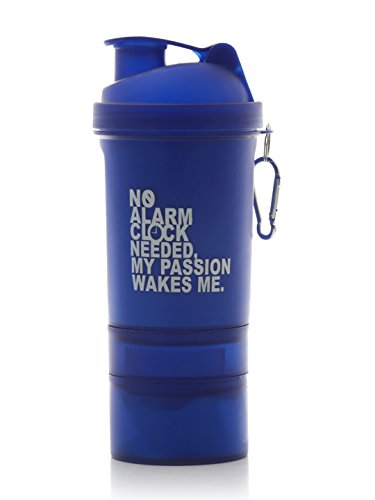 My 60 Minutes Blue Gym Shaker Bottle 500ml (MM-S3-A45)