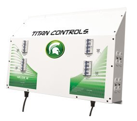 Titan Controls 702835 Helios 16 16-Light Controller With Dual Trigger Cords, 240-Volt