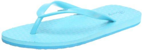Roxy Women's Bamy Neon Blue Flip Flops XMWSL133