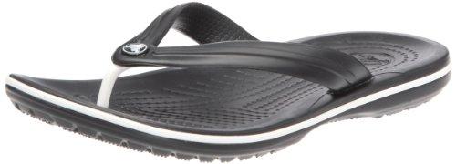 Crocs Unisex Crocband Flip Flop Black 11033-001-007